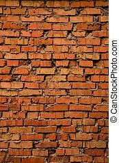 Grungy old brick texture