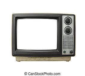 Grungy Old TV