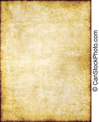 old yellow brown vintage parchment paper texture - grungy...