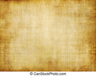 old yellow brown vintage parchment paper texture - grungy ...