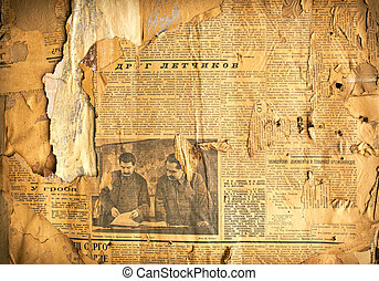 Grungy paper background