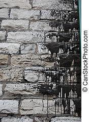 grungy, parete