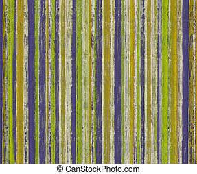 grungy, strukturerad, måla, stripes, på, ved