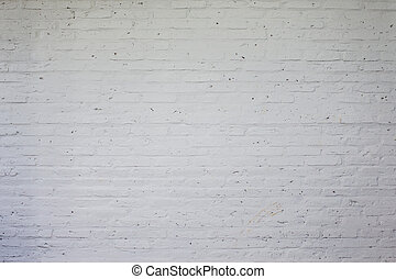 Grungy textured white horizontal stone and brick paint wall