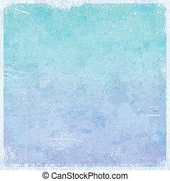 grungy, themed, tél, háttér, jég