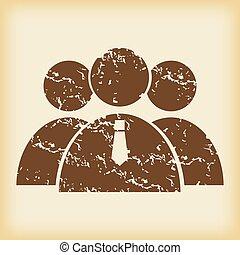 grungy, usergroup, icono