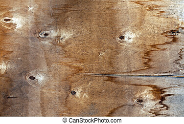 Grungy wood board surface.