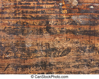 grungy wood surface - Close up of wood surface with grungy ...