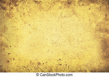 Grungy yellow background texture
