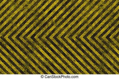 hazard background - grungy yellow striped hazard background ...