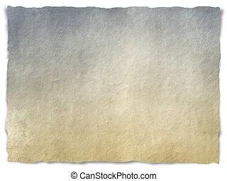 grungy, zerrissenen papier