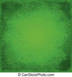 grungy, zielony, boże narodzenie, tło, themed