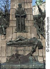 Grunwald Monument, Krakow, Poland