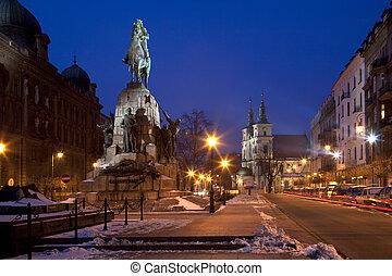 Grunwald Monument - Krakow - Poland