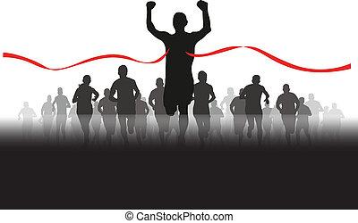grupa, biegacze
