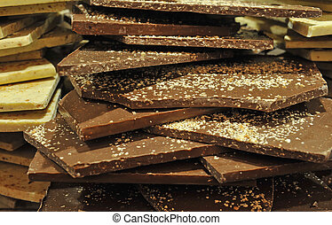 grupa, czekolada