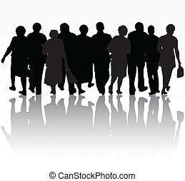 grupa, ludzie