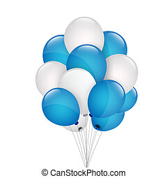 grupo, balões