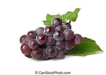 grupo, de, azul, uva