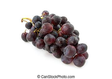 grupo, de, fresco, azul, uvas