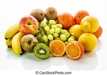 grupo, de, fruits