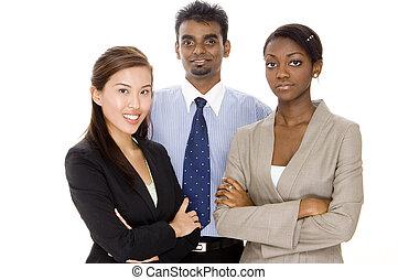 grupo, equipe negócio