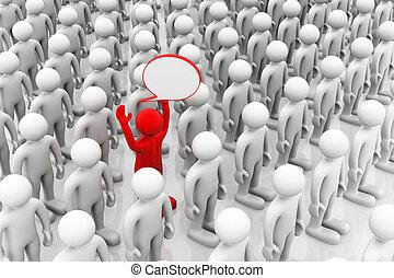 grupo, escolhido, uma pessoa, ter, resposta, correto, melhor