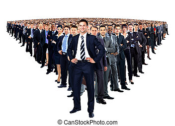 grupo grande, businesspeople