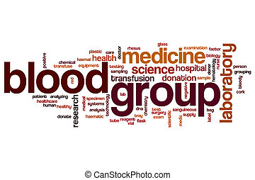 grupo, palabra, sangre, nube