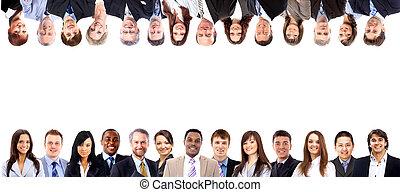 grupo pessoas empresariais
