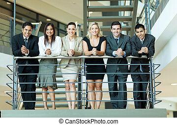 grupo, pessoas negócio