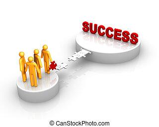 grupo, sucesso