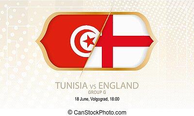 grupo, túnez, fútbol, inglaterra, competición, contra,...