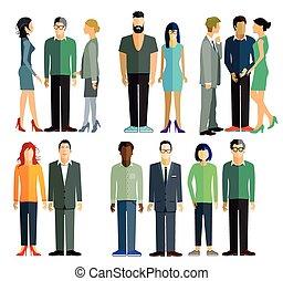 grupos, pessoas