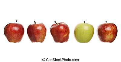 gruppe, æbler