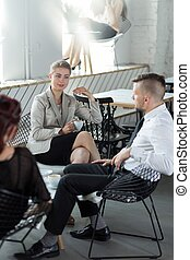 Gruppe,  businesspeople