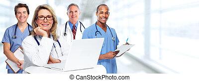 gruppe, doktoren