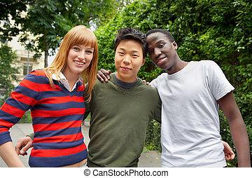 gruppe, ethnisch