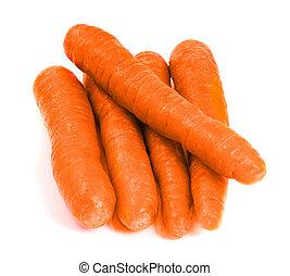 gruppe, i, gulerøder