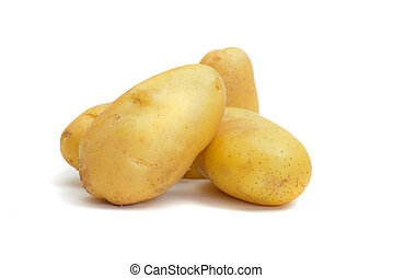 gruppe, i, kartoffel