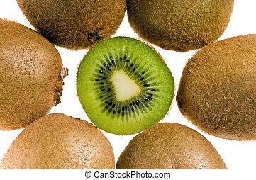 gruppe, i, kiwi