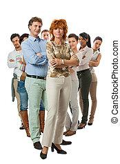 gruppo, affari, Persone, insieme, squadra, Felice
