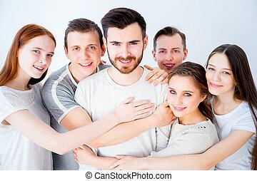 gruppo, amici