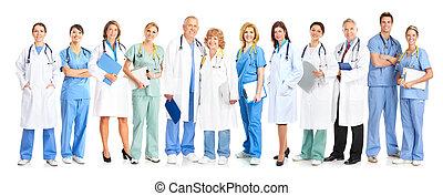 gruppo, di, medico, doctors.