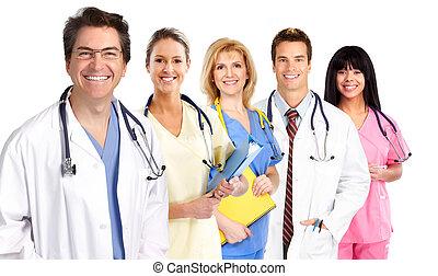 gruppo, di, medico, dottori, .