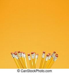 gruppo, di, pencils.