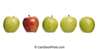 gruppo, mele