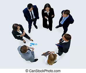 gruppo persone affari