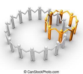 gruppo persone