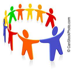 gruppo, solidarietà